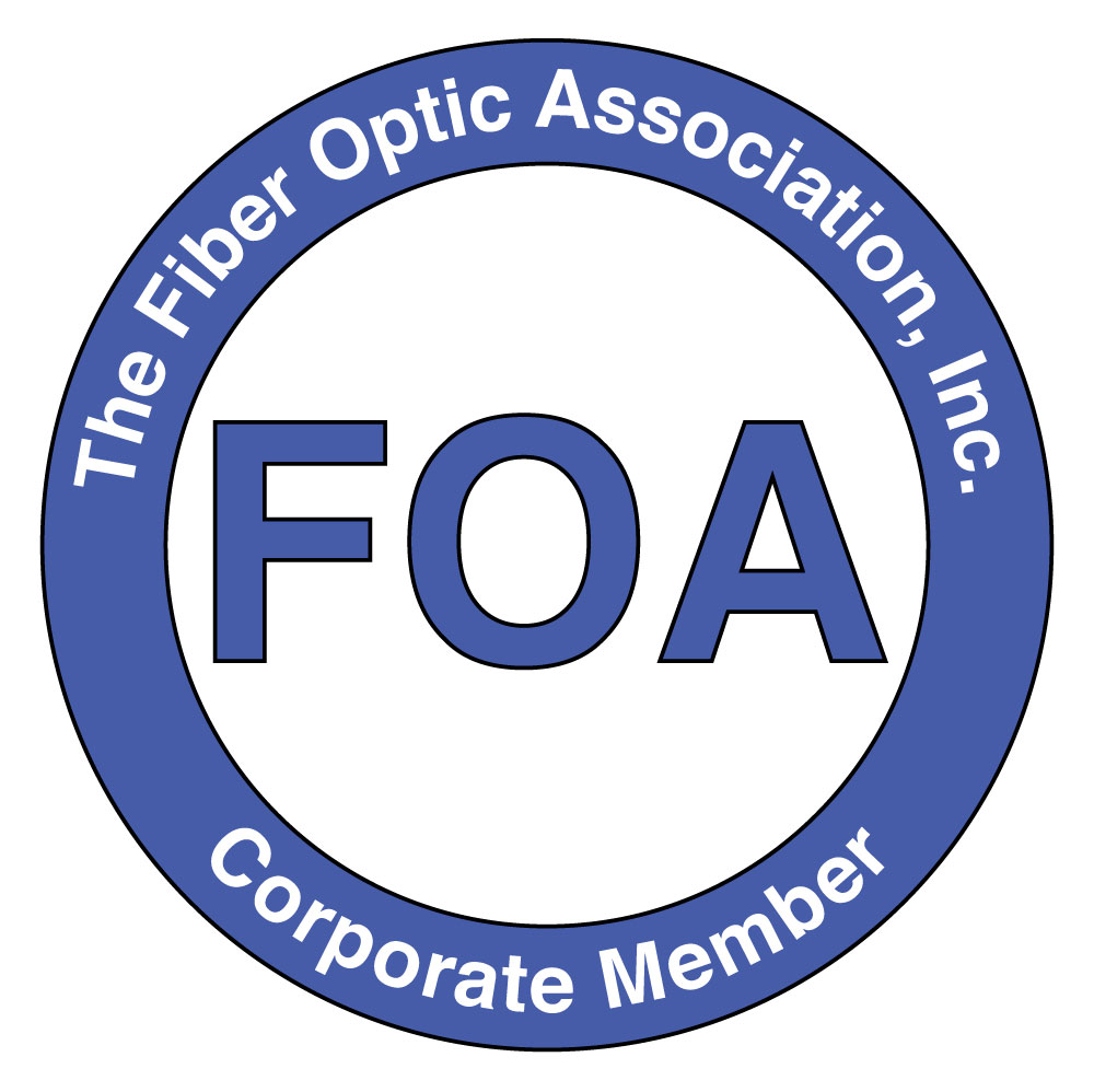 Fiber Optic Association logo